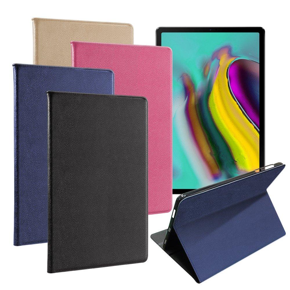 For 三星 Samsung Galaxy Tab S5e T720 10.5吋 品味皮革紋皮套