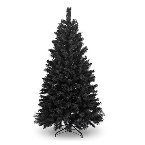 摩達客-台製豪華型10尺/10呎(300cm)時尚豪華版黑色聖誕樹 裸樹(不含飾品不含燈)本島免運費