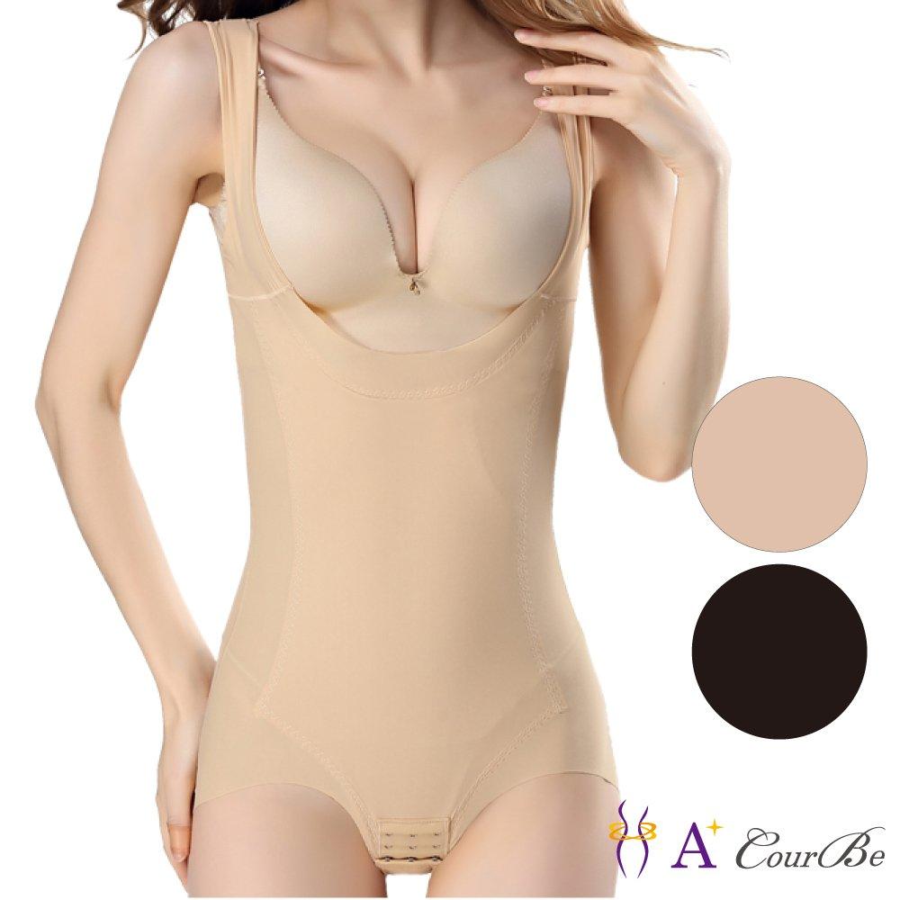 A+Courbe-超薄無痕收腹排勾式連身雕塑衣/塑身衣