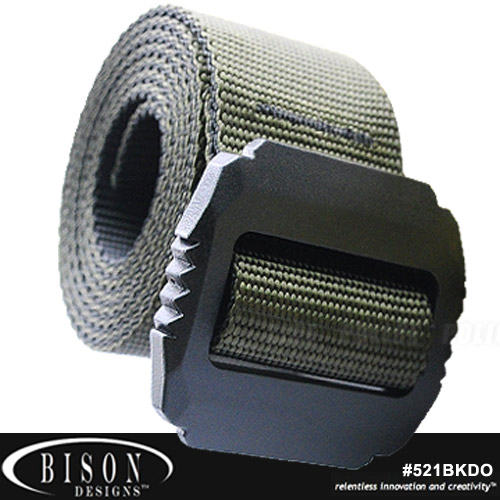Bison JAG 戰術38mm 橄欖綠腰帶 #521BKDO (M~XL)