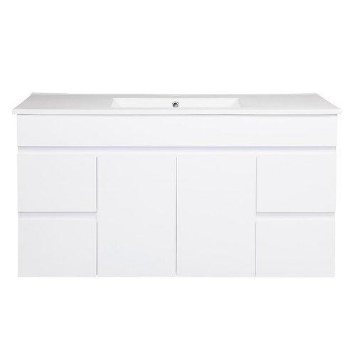 Cozy衛浴 臉盆浴櫃組+面盆龍頭 +配件全配 尺寸:120*47*62cm 防水PVC發泡板  CZ-9120