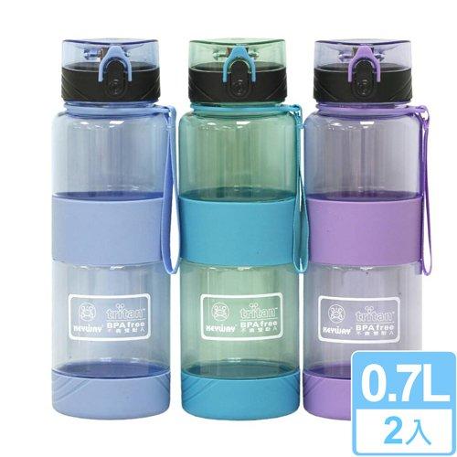 【安心工坊】喝水站隨身瓶700CC (二入)