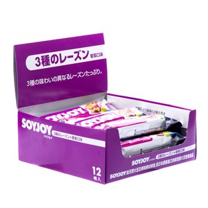 【SOYJOY】大豆水果營養棒葡萄口味(1盒12入)