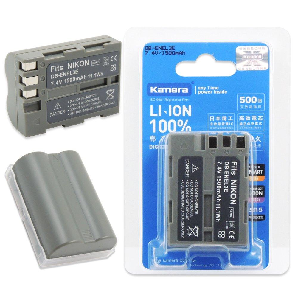 Kamera 佳美能 For Nikon EN-EL3e 高容量鋰電池