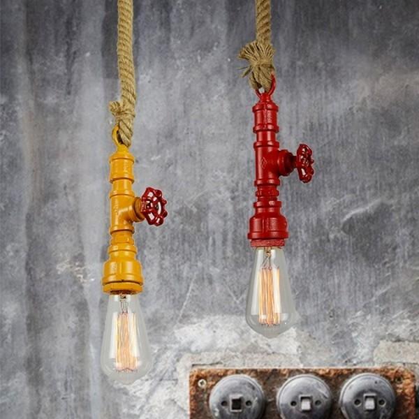 18park-水道吊燈 [紅色,全電壓]