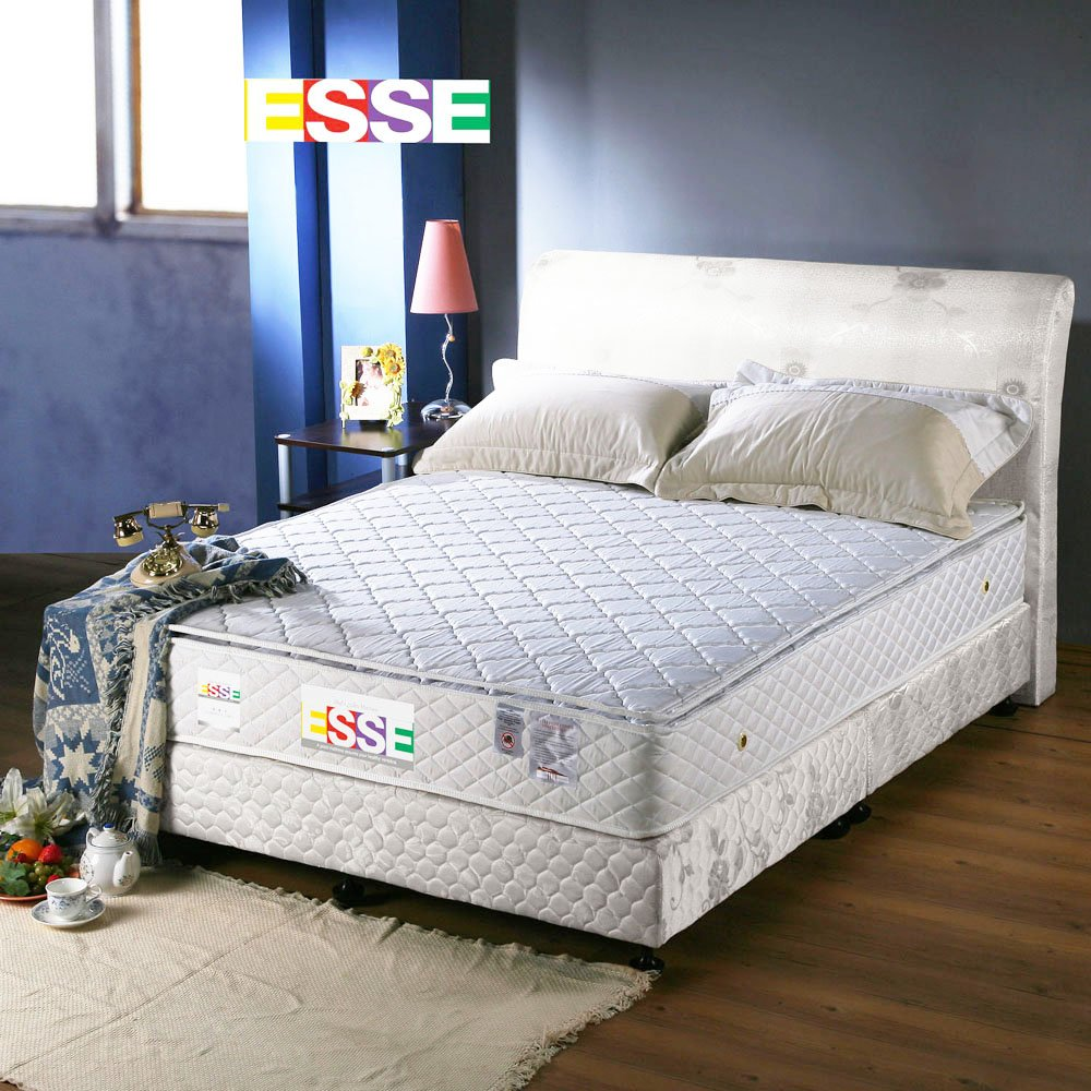《ESSE御璽名床》 舒適三線獨立筒床墊6x6.2尺 -雙人加大