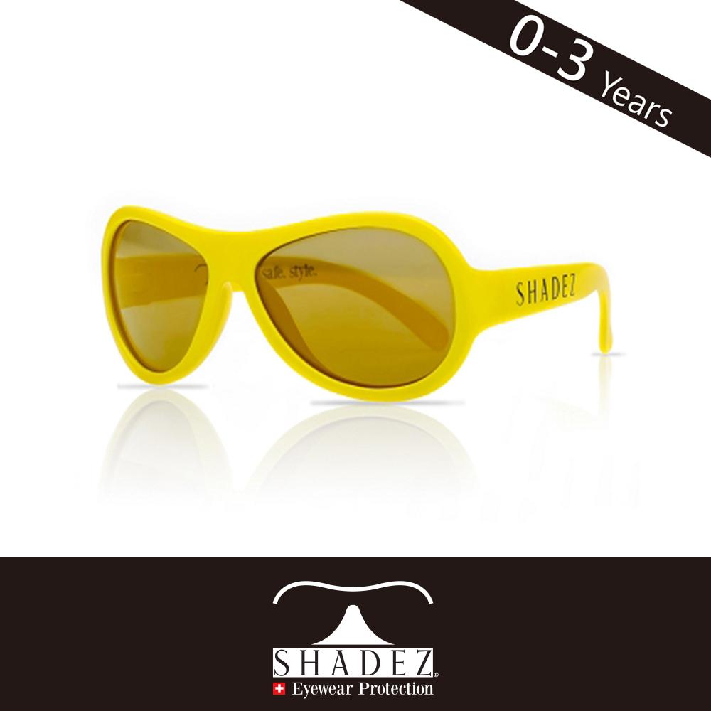 瑞士SHADEZ 兒童太陽眼鏡SHZ-34(年齡0-3)--酷炫黃