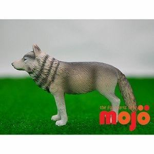【MOJO FUN 動物模型】動物星球頻道獨家授權 - 大灰狼(站姿)