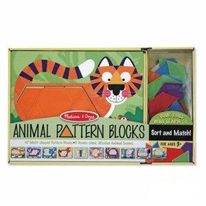 美國瑪莉莎 Melissa & Doug 動物造型拼板 - 10面拼板