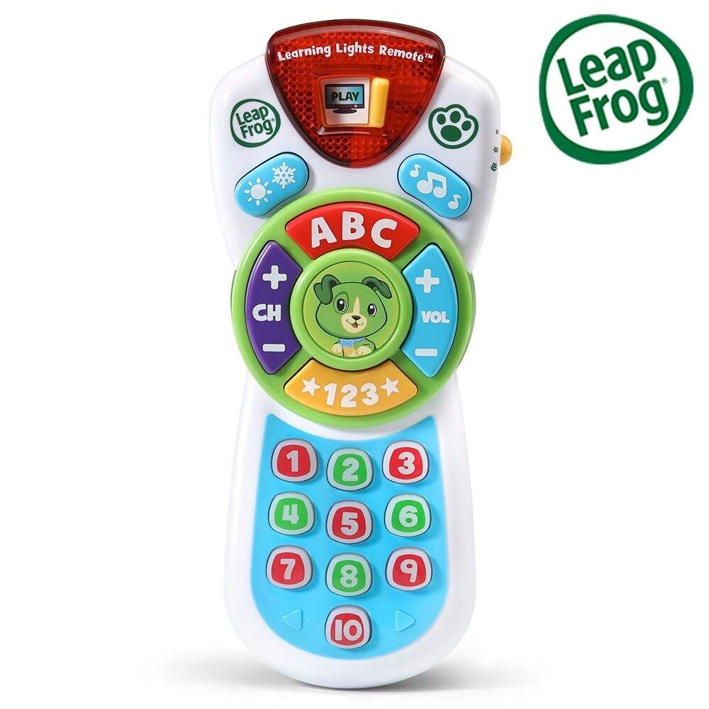 美國 LeapFrog 跳跳蛙 新版學習遙控器(綠)