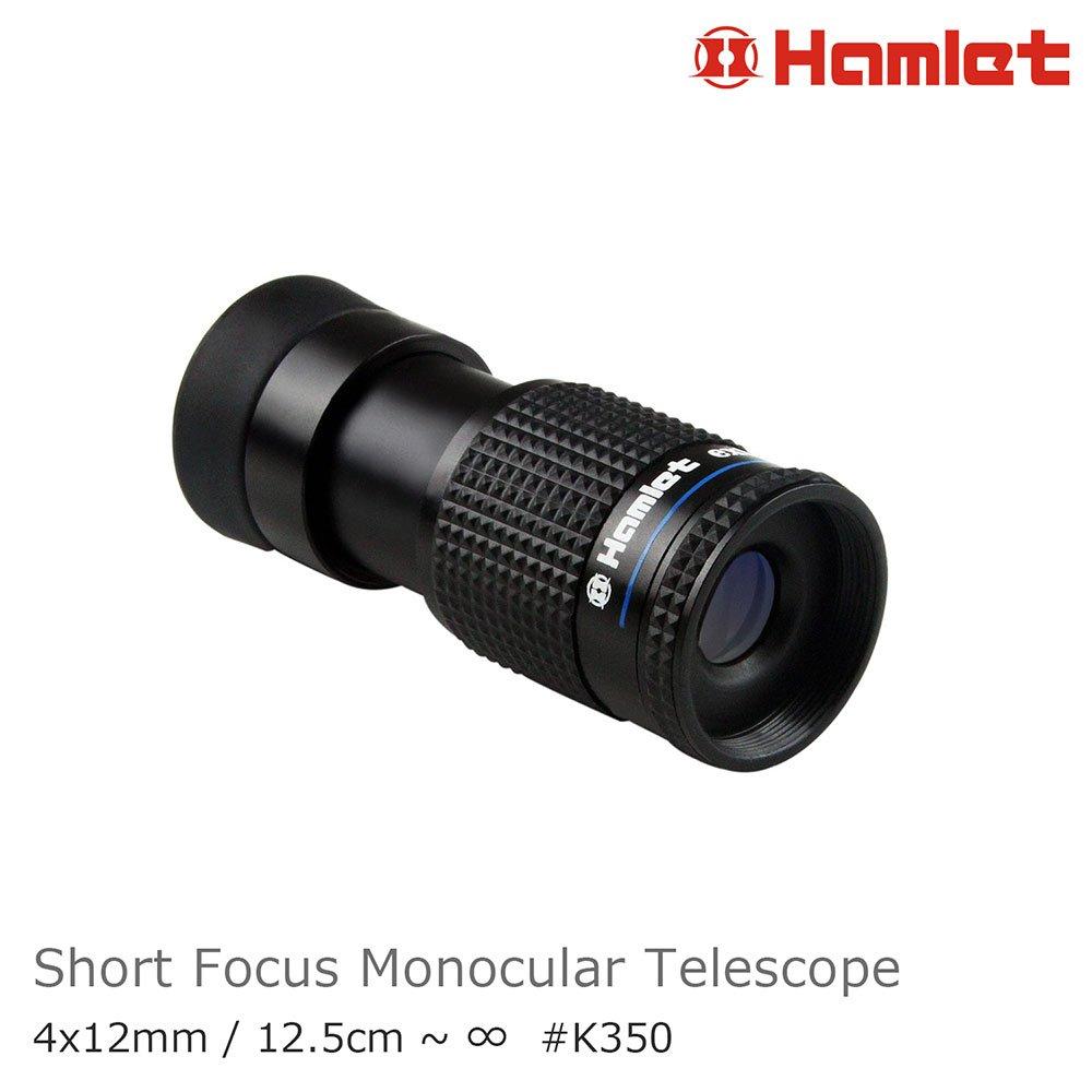 低視力輔具 故宮展覽【Hamlet 哈姆雷特】4x12mm 單眼短焦微距望遠鏡【K350】