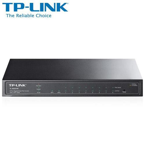 ★快速到貨★TP-LINK普聯TL-SG2210P 8埠Gigabit智慧型PoE交換器