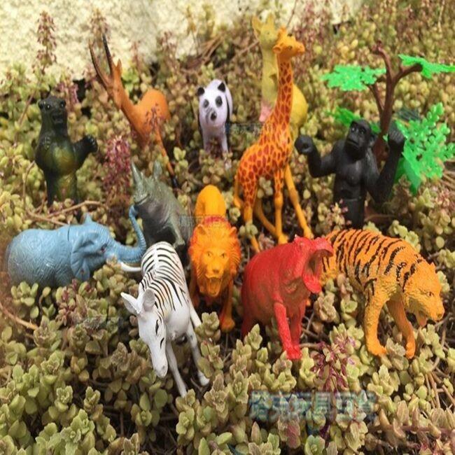 家家酒 動物園 / 侏儸紀 乖乖桶公仔 (含圍欄) 迷你動物園 獅子 恐龍 模型 玩具