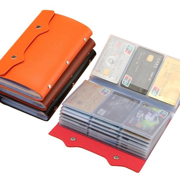 名片夹 卡包大容量多卡位多功能防消磁卡包女卡包男證件夾卡套名片夾錢包 星河光年