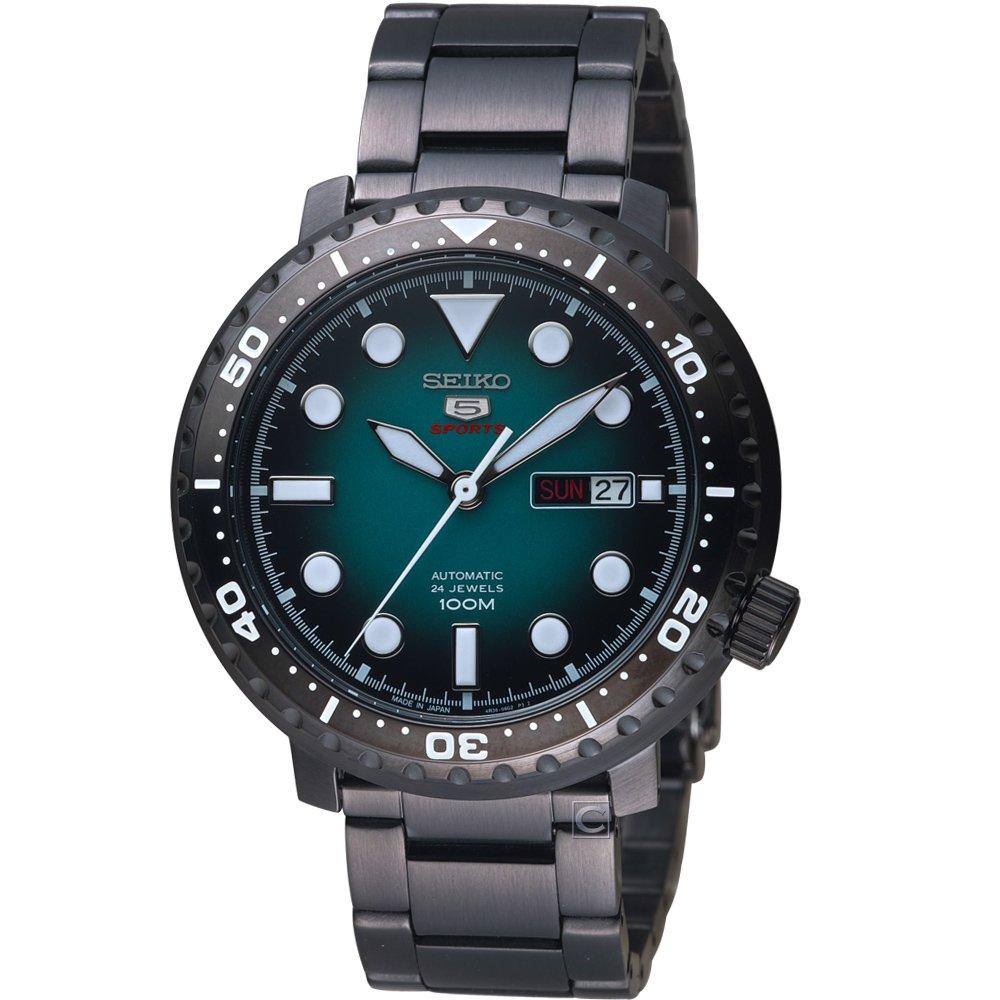 SEIKO 精工 5號復刻時尚機械男腕錶 4R36-06N0SD SRPC65J1