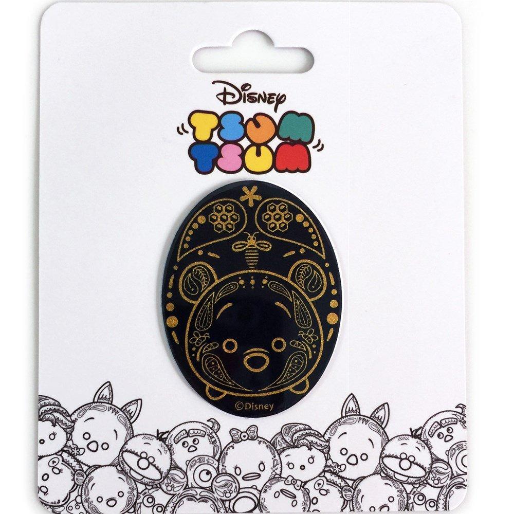 【Wow Pad 抗滑魔力貼】Disney系列  TSUM TSUM-橢圓形魔力貼-01(3.8cm*5cm)L-AD-01