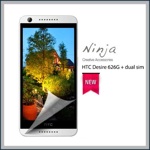 【東京御用Ninja】HTC Desire 626G+ dual sim專用高透防刮無痕螢幕保護貼