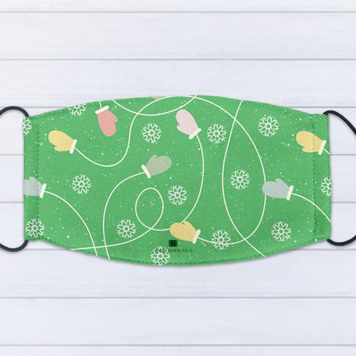 IHERMI 聖誕手套 個性口罩 台灣製