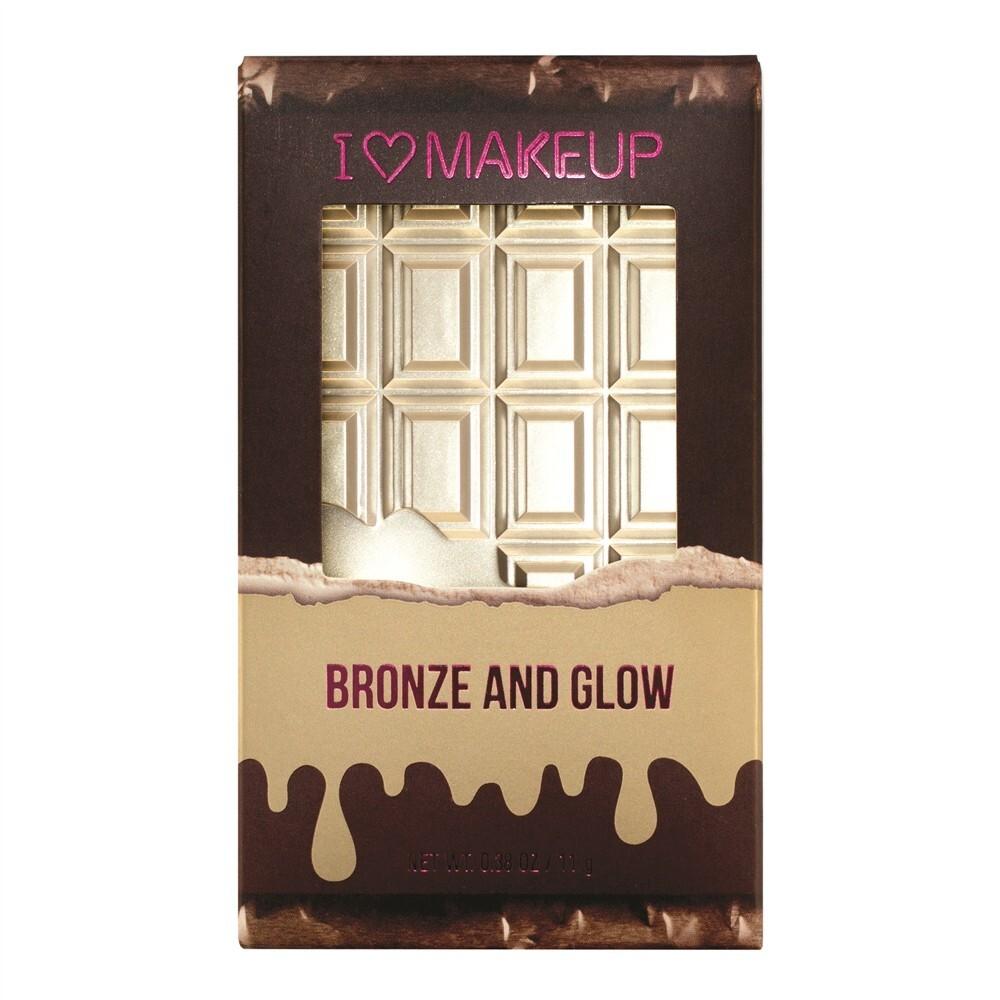 愛來客 英國makeup revolution bronze and glow 高光修容盤