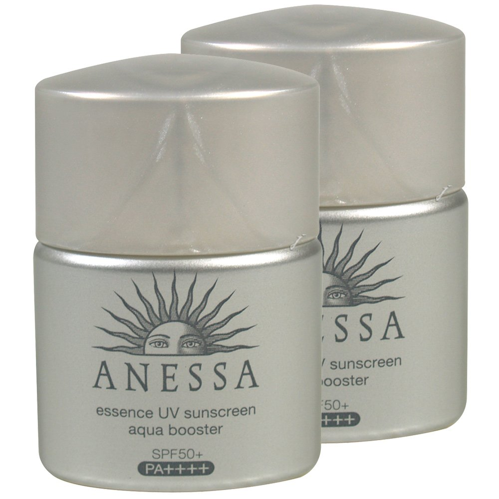SHISEIDO資生堂 ANESSA安耐曬 銀鑽保濕防曬露SPF50+PA++++(12ml)*2