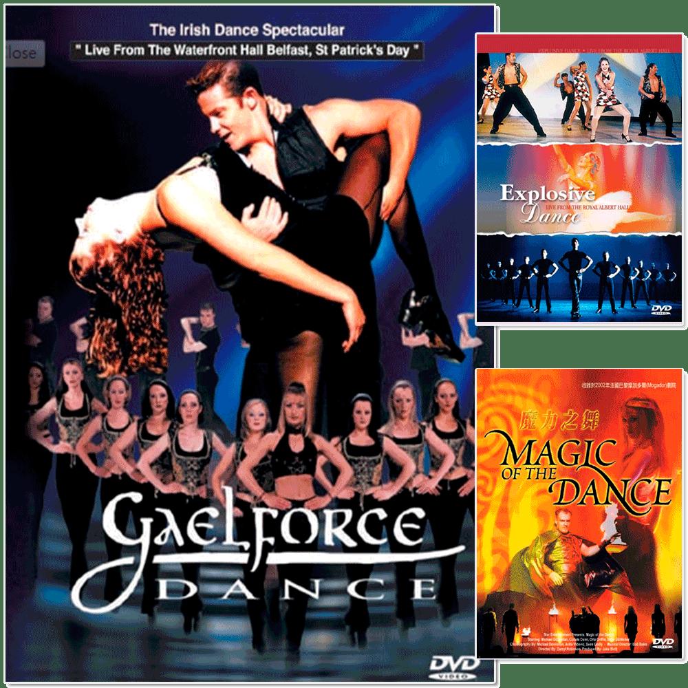【麗音影音】《踢踏舞的震撼》命運之舞 / 火焰之舞 II-昂揚舞風 / 魔力之舞 (3DVD)