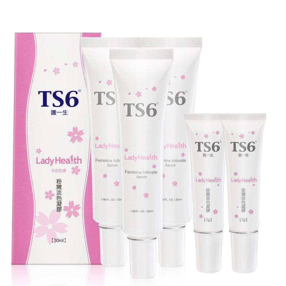 TS6護一生 粉嫩淡色凝膠30gx3入贈粉嫩淡色凝膠7gx2