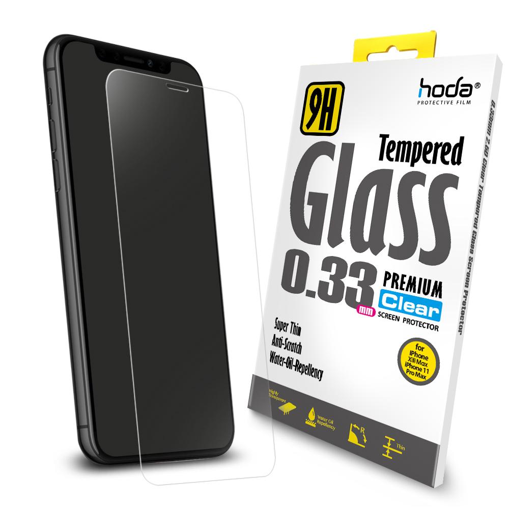 【hoda】iPhone 11 Pro Max / Xs Max 6.5 吋全透明高透光9H鋼化玻璃保護貼