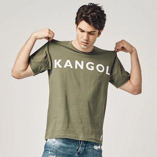 【KANGOL】大LOGO印花短 (男)