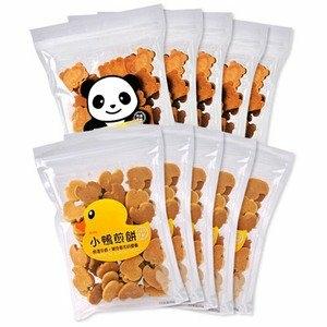 《好客-嘉冠喜》黃色小鴨5包+蜂蜜小熊5包, 180g/包,共10包