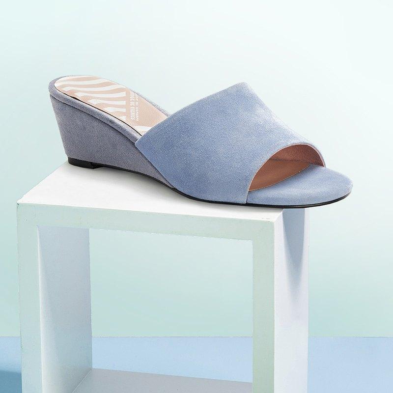 | HOA | 小圓頭簡約船跟拖鞋 | 藍色 | 5315 |