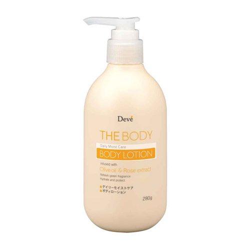 【熊野油脂】DEVE每日潤澤乳液