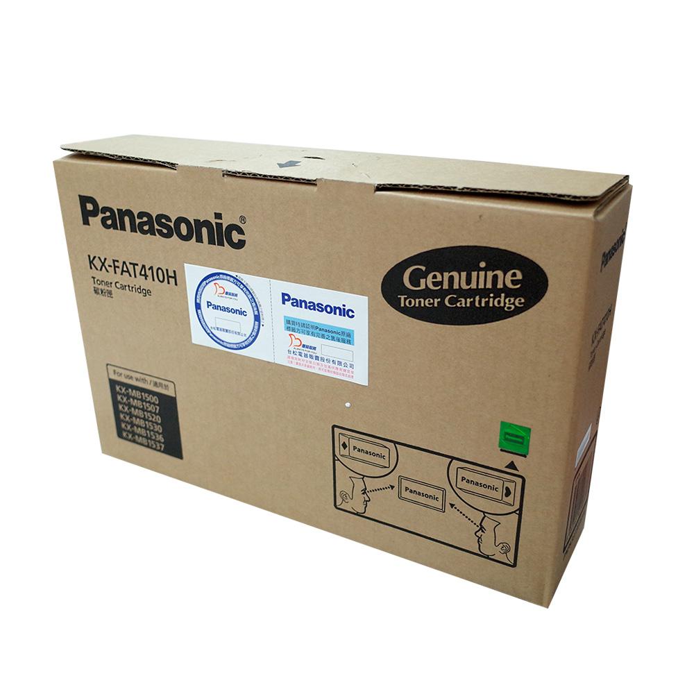 國際牌 Panasonic KX-FAT410H 原廠雷射碳粉匣(碳粉+滾筒)
