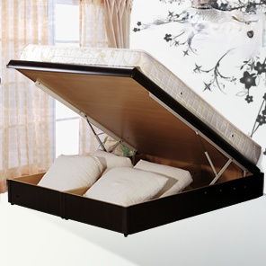 Demi-輕鬆收納獨立筒床墊+掀床架-單人3.5呎