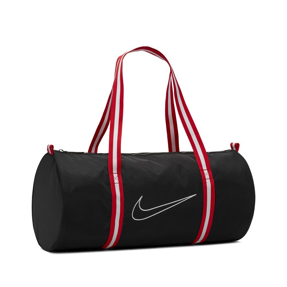 NIKE 手提袋 Basketball Duffle 男女款 健身 重訓 外出 旅遊 大容量 背帶可調 黑 紅 [CK4973-010]