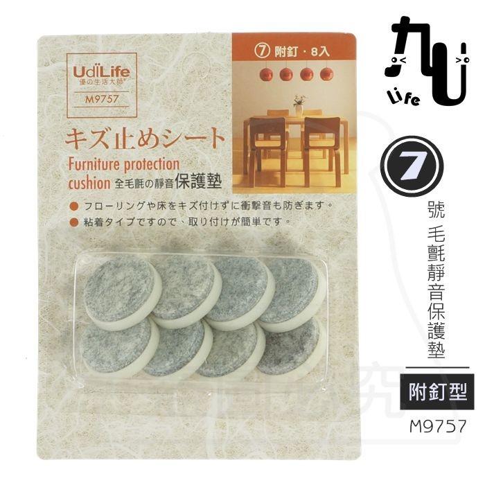7號毛氈靜音保護墊/附釘型8枚 m9757 耐磨防刮 防震墊 止滑墊 傢俱防護