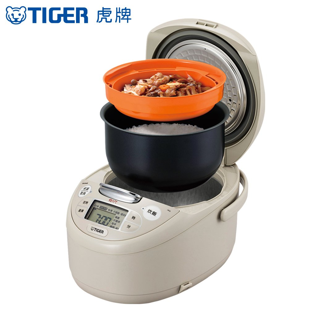 TIGER 虎牌*日本製 6人份tacook微電腦多功能炊飯電子鍋(JAX-R10R-CX)