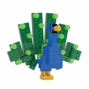 Tico微型積木 孔雀
