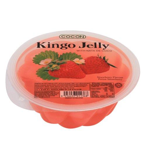 可康草莓大果凍(含椰果)420gx6顆