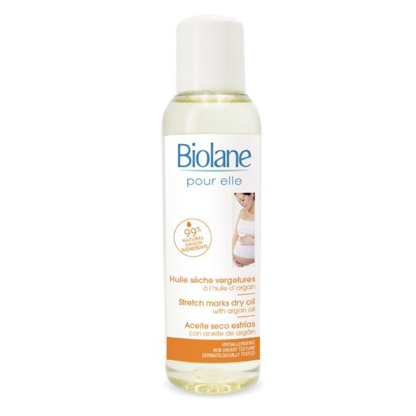 法貝兒 biolane 堅果妊娠修護油125ml (法國原裝進口)