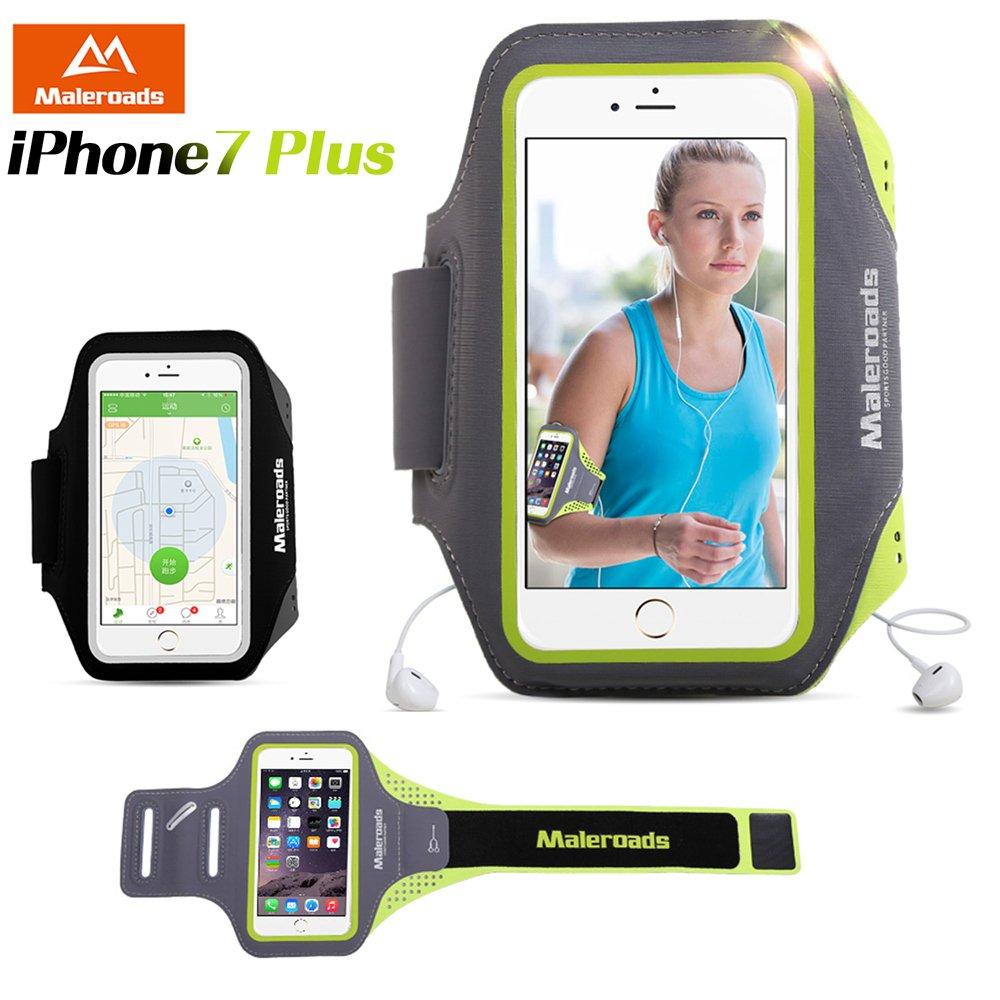 原裝Maleroads APPLE iPhone7 Plus 5.5吋 手機專用款 運動臂帶 預留耳機孔 慢跑 自行車 夜跑 臂包