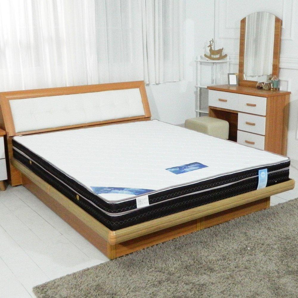 【時尚屋】3.5尺英式雙色三線獨立筒彈簧床墊GA16-3.5