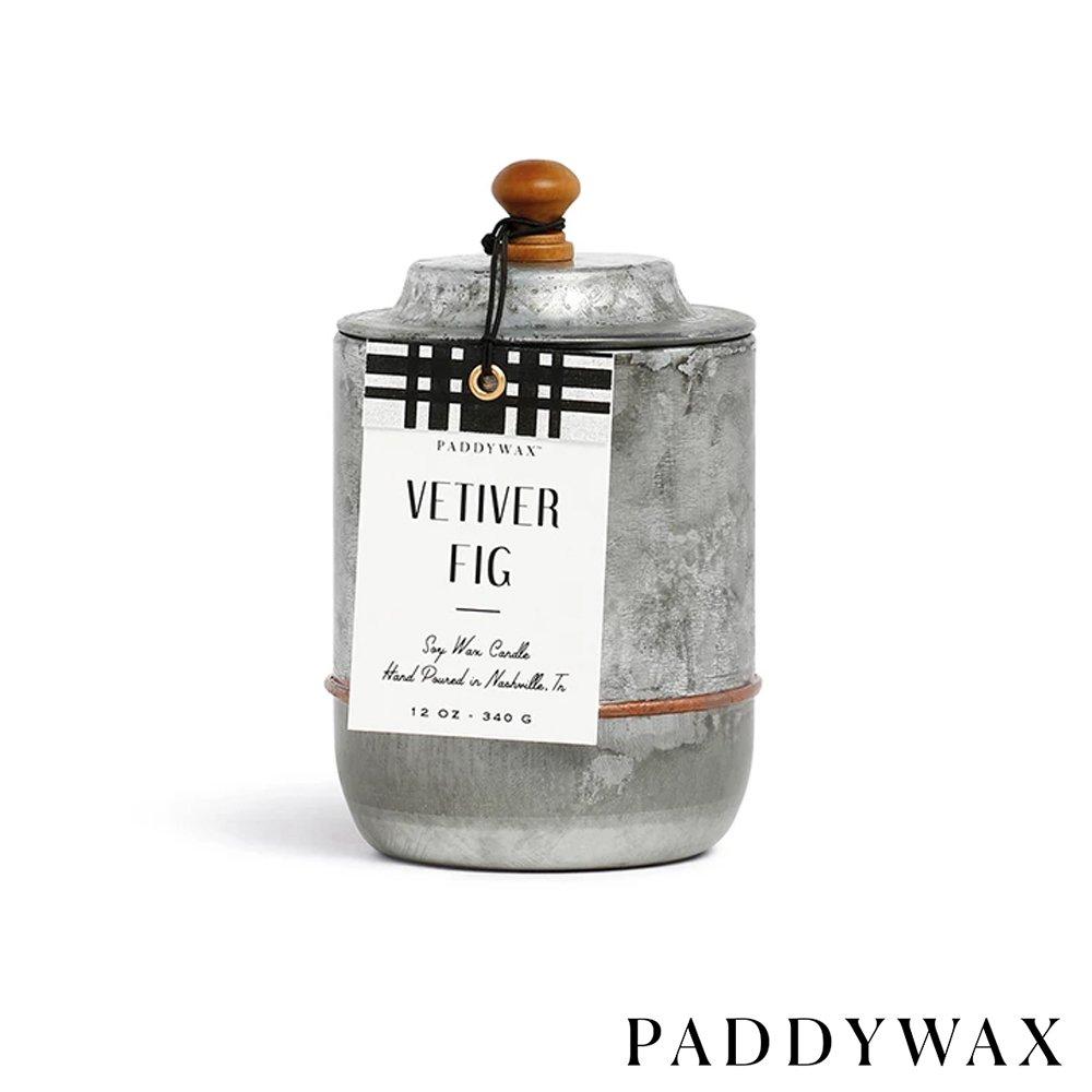 PADDYWAX 美國香氛 Homestead系列 香氛蠟燭 Vetiver Fig 香根草無花果 340g