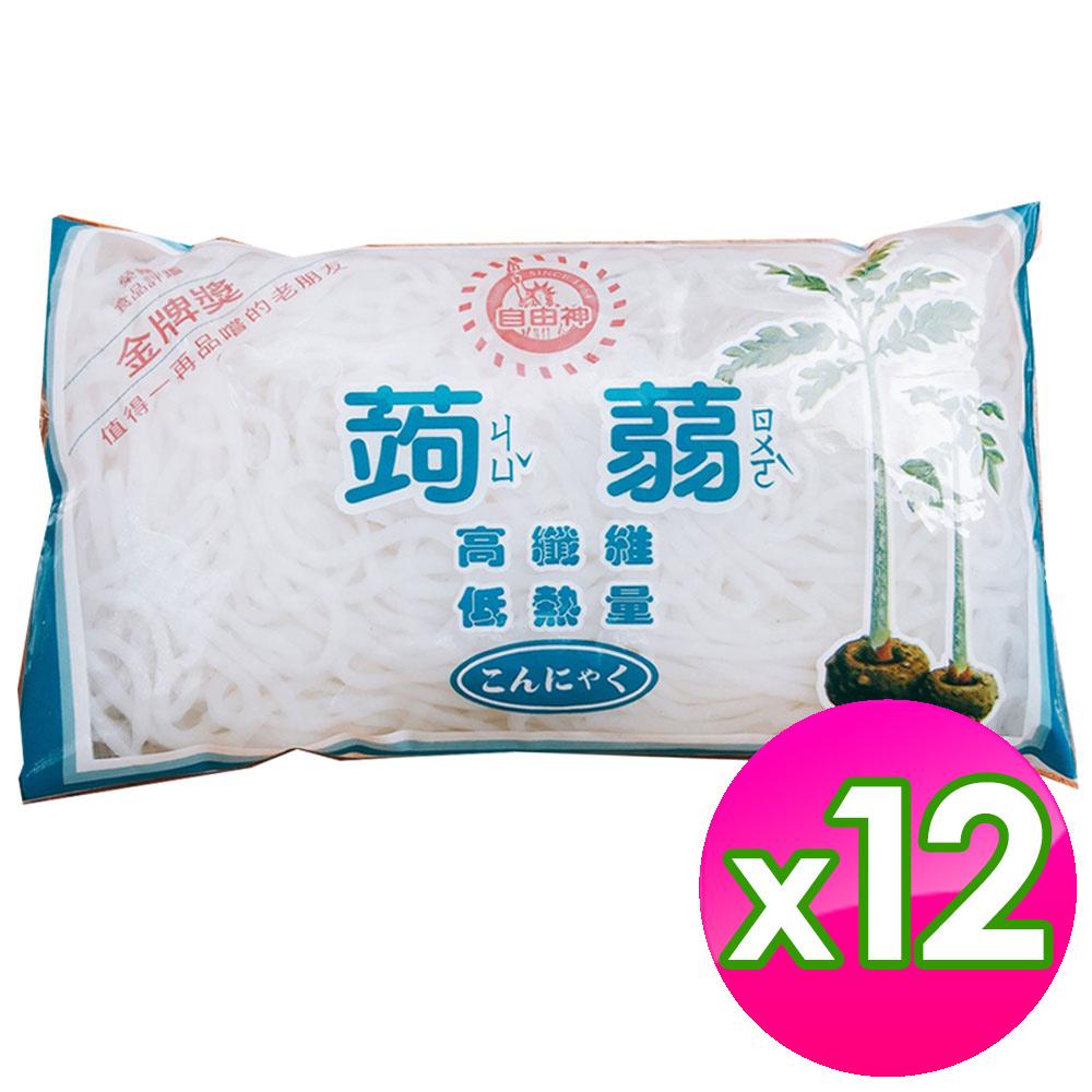 12包 Q彈蒟蒻雪麵 180g/台灣製造