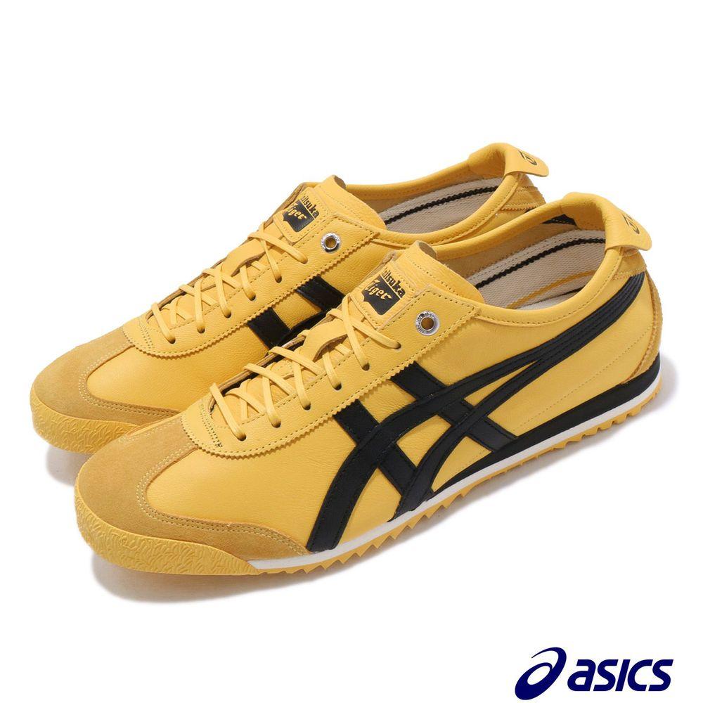 ASICS 休閒鞋 Mexico 66 SD 鬼塚虎 男女鞋 溯造新生 fuzeGEL 輕量 復古 穿搭 黃黑 [1183A727750]
