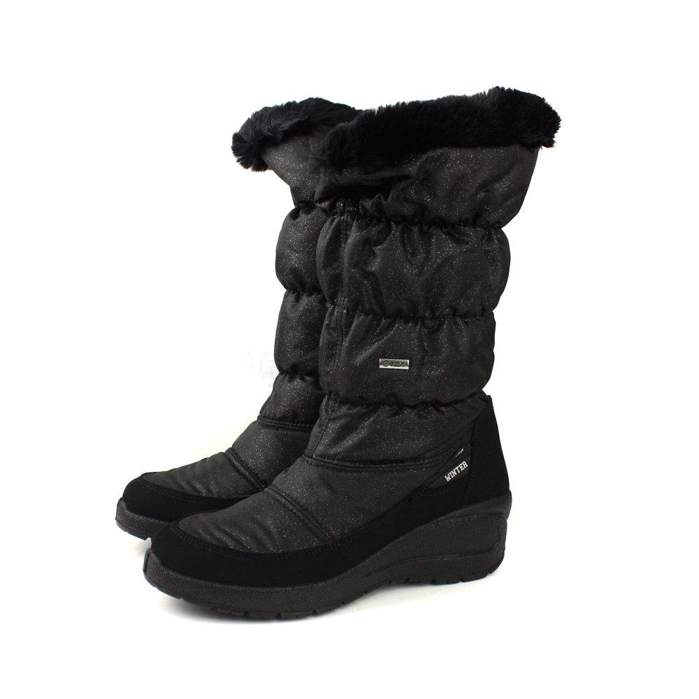 Grunland  靴子 長靴 保暖 黑色 女鞋 DO0287 no030