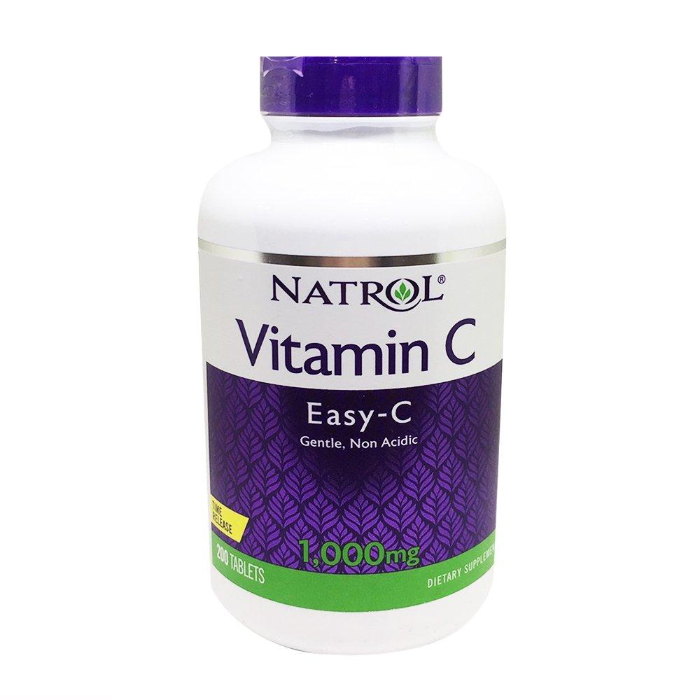 NATROL 納妥 維生素C 1000毫克緩釋錠(食品) 200錠