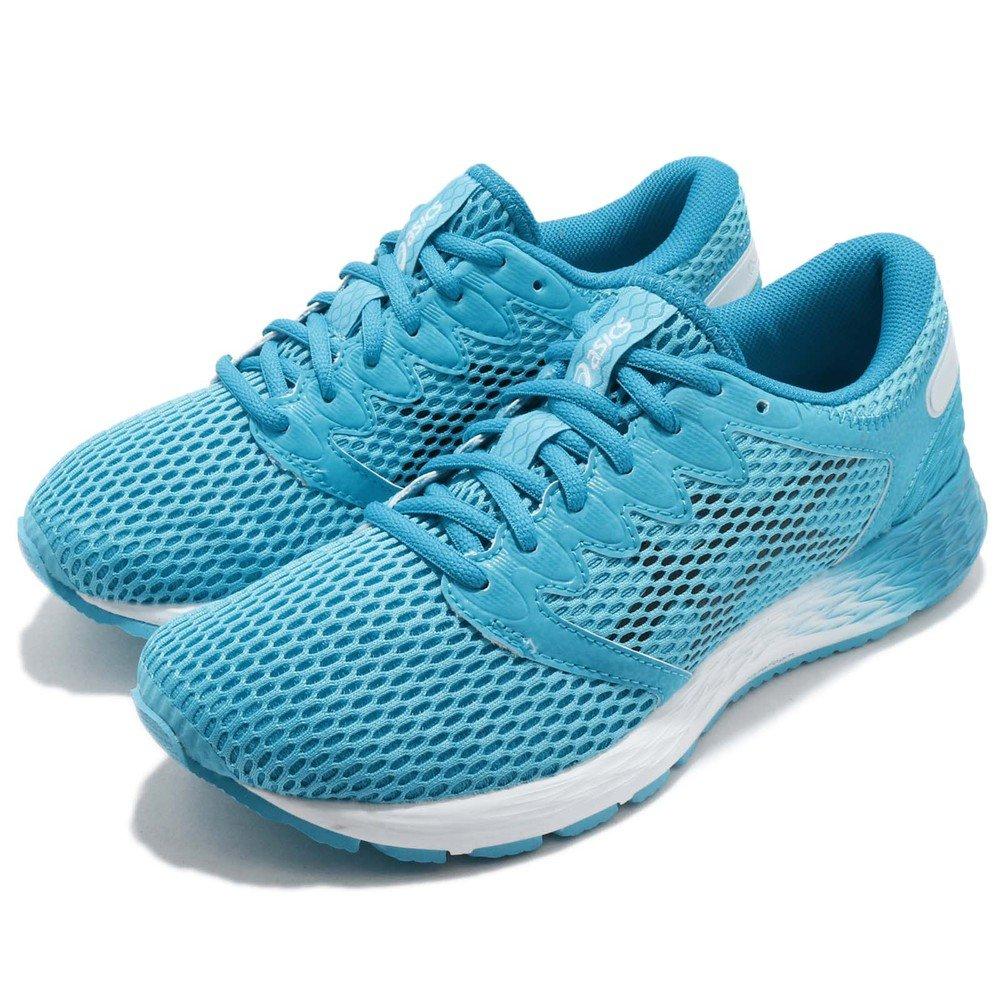 ASICS 慢跑鞋 RoadHawk FF2 運動 女鞋 亞瑟士 輕量 透氣 避震 路跑 穿搭 藍 白 [1012A123400]
