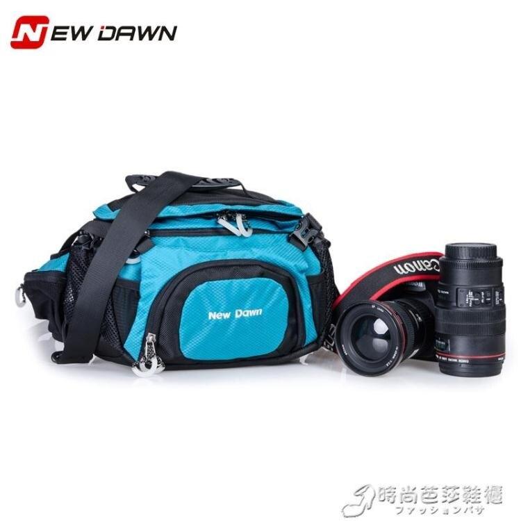 NewDawn戶外單反腰包佳能相機包單肩包攝影腰包雙肩騎行背包