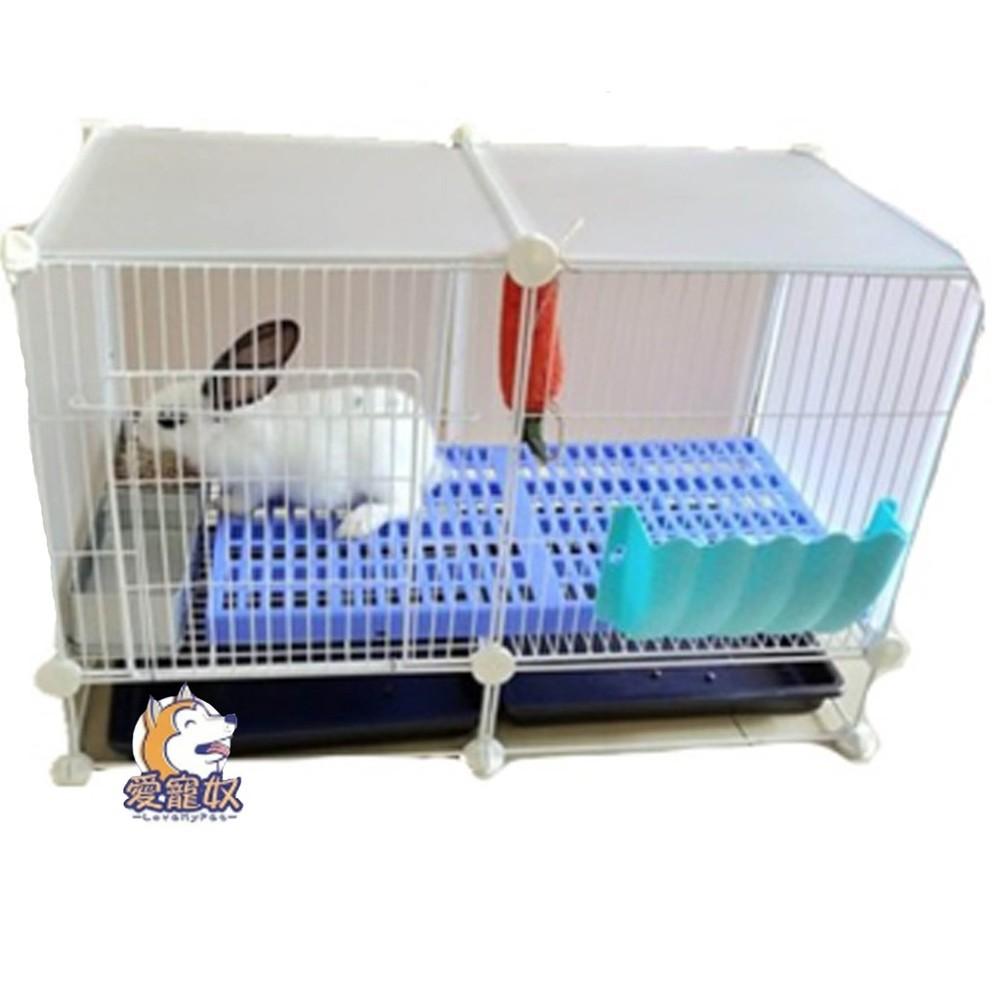現貨送睡墊gm自由組裝diy鐵網寵物籠兔籠鼠籠m00009 - gm4標準版