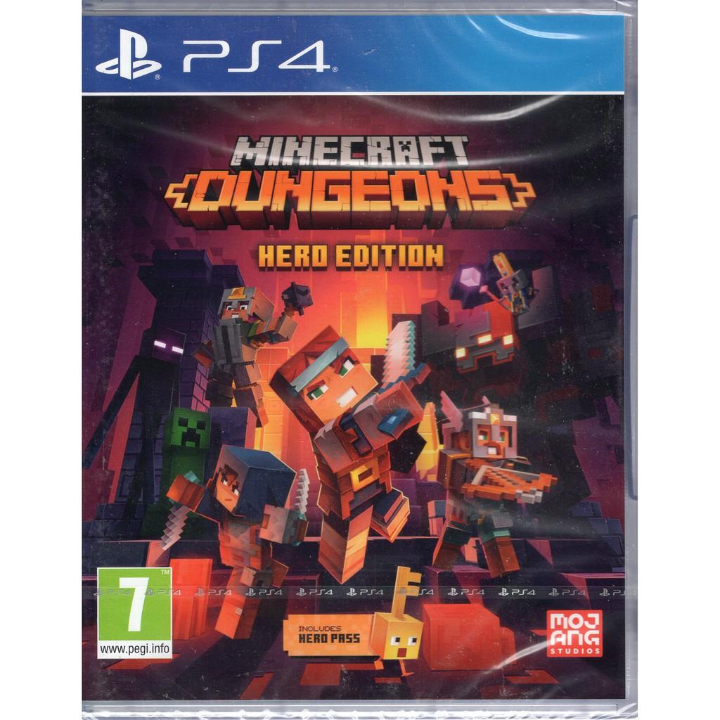 PS4遊戲 我的世界 地下城 Minecraft Dungeons 英文版【魔力電玩】